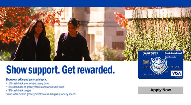 Slu Alumni Online Apply For The Slu Credit Card